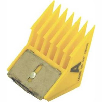 "Laube Clip-On Comb Big-K A (¾"")"