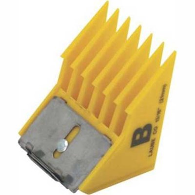 "Laube Clip-On Comb Big-K B (13/16"")"